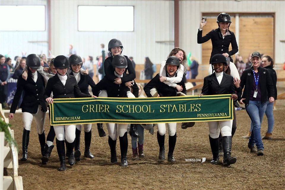 Congratulations to our #GrierGirls who participated at the IEA Dressage National Finals and for winning for the 2nd year in a row! Riders who competed and/or won National Championships include Lindsay S., Sophie K., Lilly F., Grace W., Sophia O., Courtney M., Ally S., and Marcella B. In addition to her 4 National Championship titles, Lindsay S. was also awarded High Point Rider earning her a spotlight on the athlete page in Sports Illustrated!