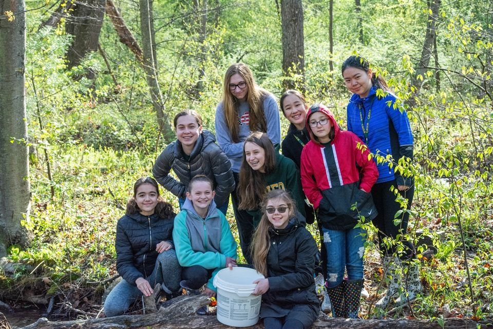 Grier's Life Science class participated in Trout Release Day events as part of their participation in the Pennsylvania Trout in the Classroom program (TIC).