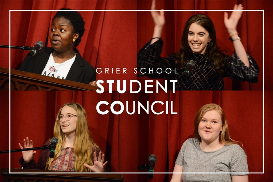Congratulations to Grier's 2019-2020 Student Council Officers!