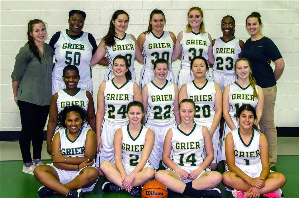 Grier's 2019-20 Varsity Basketball Team