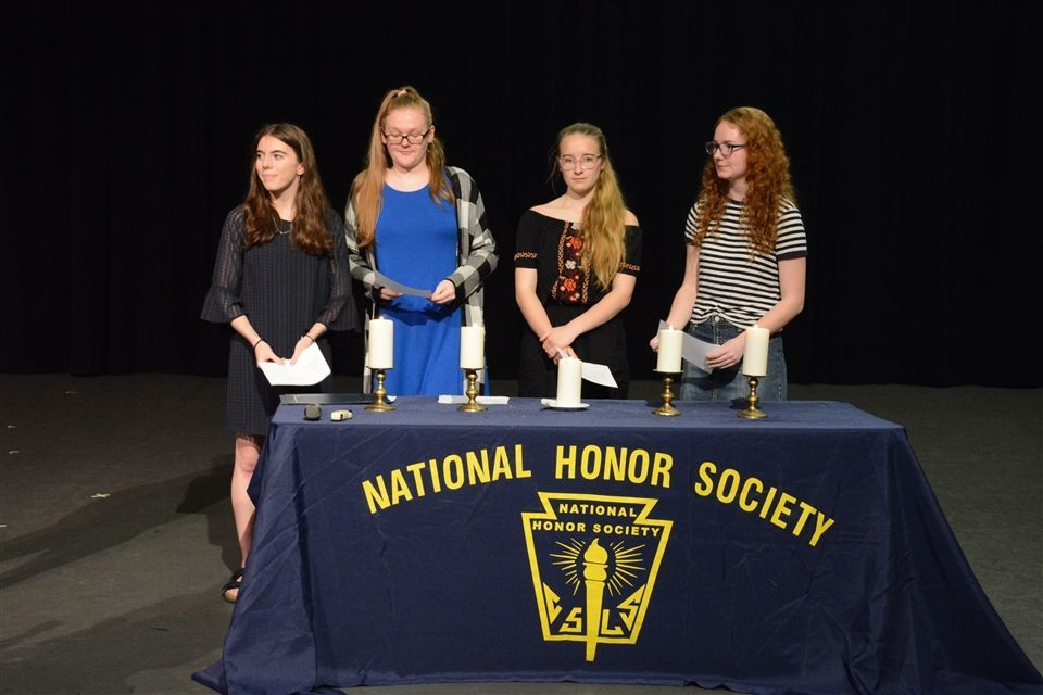 NHS Induction Spring 2019.