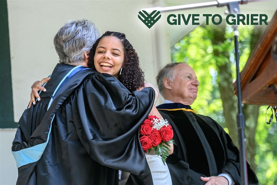 In the spirit of giving, this year, consider making a gift to Grier. Every gift to Grier is appreciated, no matter the amount. Your gift signifies your confidence and support of Grier and dedication to the education and empowerment of young women.