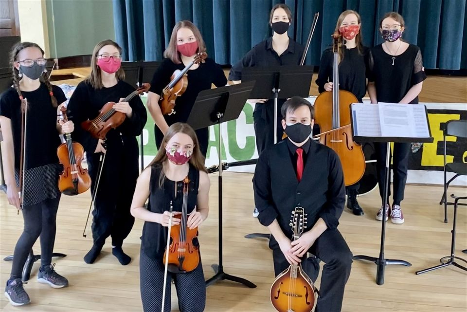 Performers in the Winter Chamber Concert