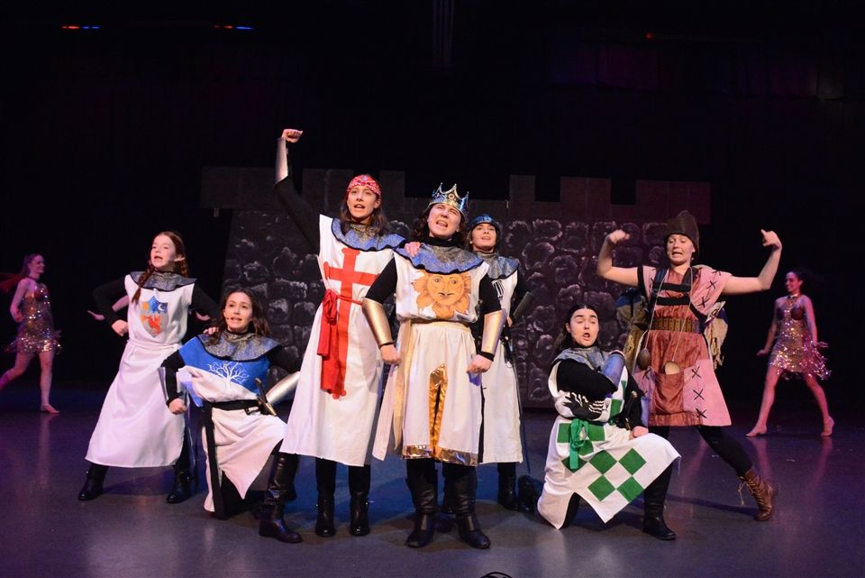 Grier's Production of Spamalot, April 2018.