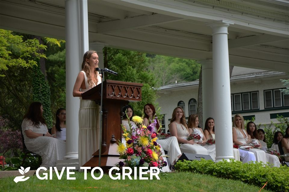 Gifts in honor of graduates are a way for families and friends to demonstrate their appreciation for the role Grier has played in educating and empowering the young women of the Class of 2018. Every gift to Grier is appreciated, no matter the amount