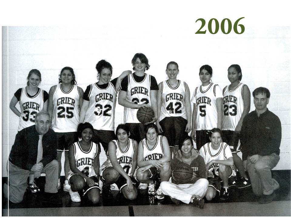 Recognizing the demand and the importance of competitive sports for its female students, Grier began competition with other area schools. Doing so meant that the intra-scholastic teams of Green and Gold no longer had the same significance as in the past.