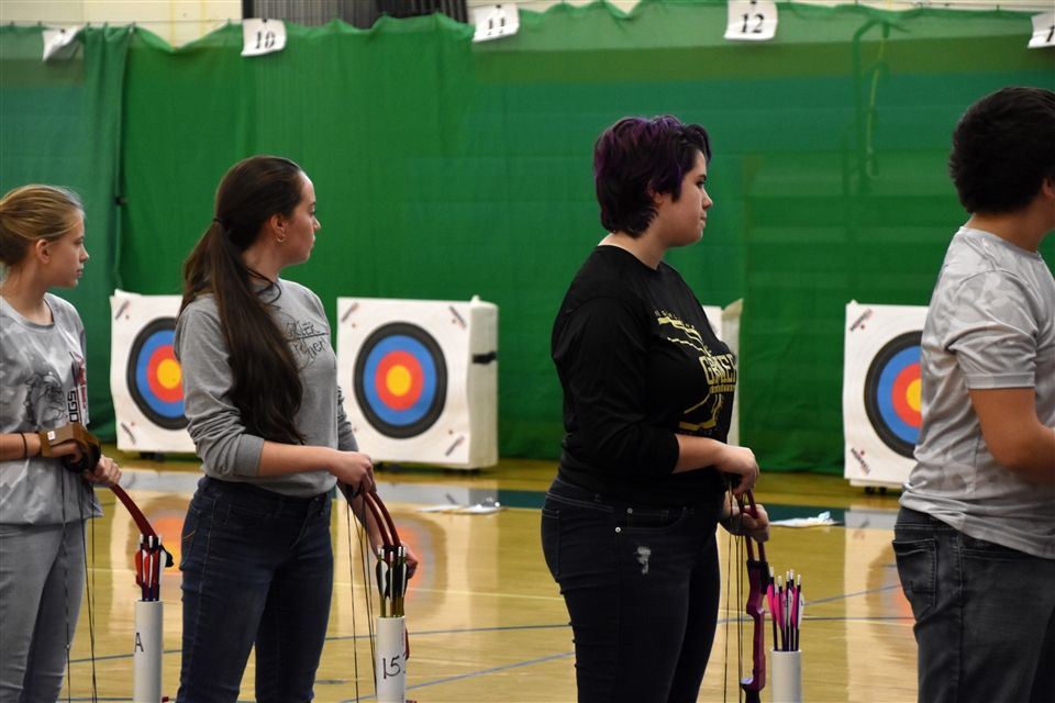 Grier archers traveled to Tower City, Pennsylvania, where they represented Grier School in the National Archery in Schools Program (NASP) State Qualifier tournament hosted by Williams Valley High School on Saturday, January 12th.