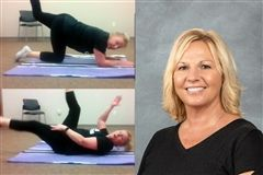 Body Sculpting with Cherie Gates, Grier's Athletic Director