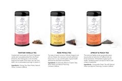 Three varieties of tea, each tin contains 10 tea sachets and features an original design by Grier senior Olivia A.