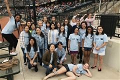 Grier Choir at the Altoona Curve Game May 5, 2018.
