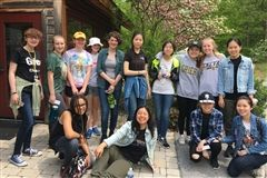 On a beautiful spring Tuesday, May 15th, fifteen Grier students competed against other area high schools in an Envirothon event hosted by Juniata College at the Raystown Lake Field Station on Raystown Lake in Huntingdon Country, Pennsylvania. Grier came in 2nd place in the Soils category. Way to go!