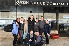 Grier Dancers performed in the Koresh Artist Showcase.