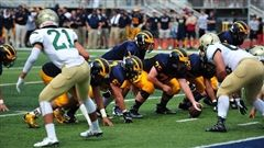 The Wolverines defeated Immaculata-LaSalle High School 42-14 on August 19.