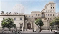 A rendering of the Frick Collection on East 70th Street in Manhattan