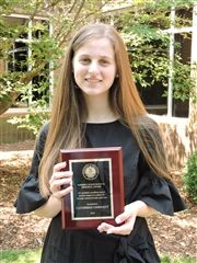 Catherine Gwinnett '20, Kimberly Susan Bates '84 Memorial Award Recipient