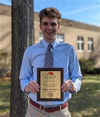 Cason Pierce '20, Bill Lee Scholarship Recipient