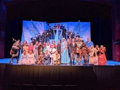 Cast and Crew of Frozen, Jr.