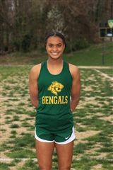 Dana Wilson '25, Outstanding Female Athlete of the PTAC Championship Meet