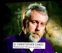 Dr. Christopher Candy Featured on