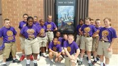 The Colonel's Camp Cadets were excited to visit the Alamo and see a movie