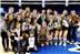 With their win over Concord Christian at this year's DII-A state volleyball championship final, Webb's Lady Spartans grabbed their sixth consecutive state title, becoming only the second high school volleyball team in Tennessee history to net a six-peat! Senior Kayleigh Hames was named MVP of the championship match. Photo published at knoxnews.com.