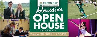 Join us for Open House on October 28!