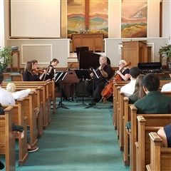 The Piedmont Camerata performed on August 24