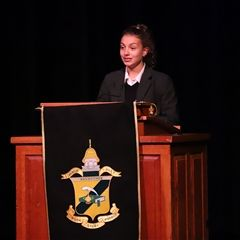 Upper School Honor Chapel helps reinforce the ideals behind the Honor Code