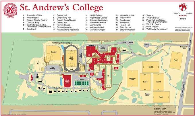 Contact Us - St  Andrew's College