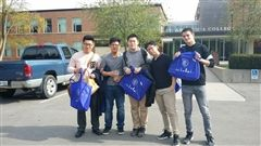 (l-r) Jake Kim, Eugene Lee, Ben Ding, JunKyo Kim, Jan-Philip Faupel