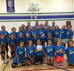 Volleyball 5th-6th Graders 2017