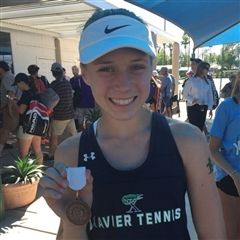 Erica Stutz, 3rd Place State Singles