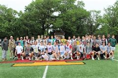 2018 Bishop Ireton boys' lacrosse Alumni game at Fannon Field