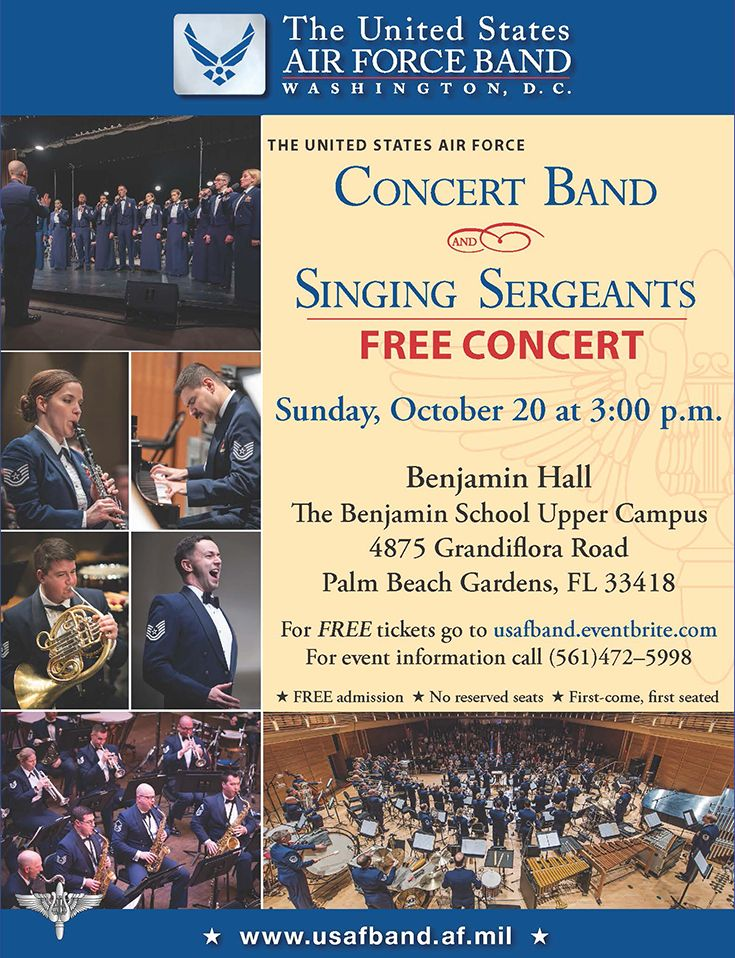 USAF Concert Band and Singing Sergeants