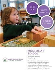 Montessori School Brochure