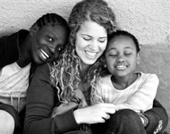 Swaziland Summer 2012 (Catherine still sponsors and corresponds with one of these little girls).