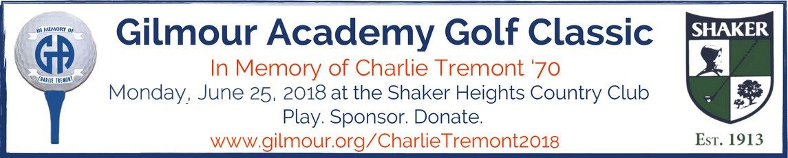 Graphic linking to Charlie Tremont Golf Classic page