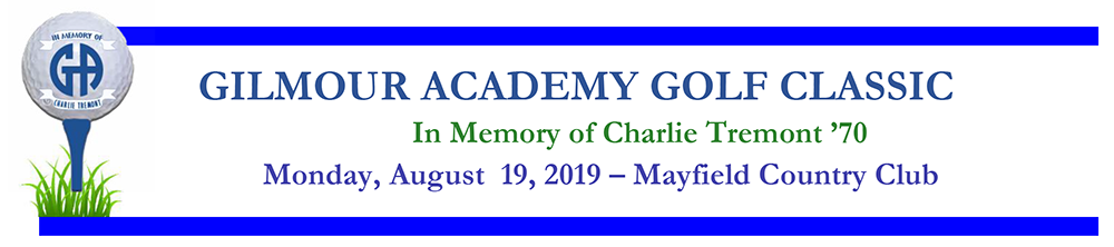 2019 Gilmour Academy Golf Classic in Memory of Charlie Tremont '70