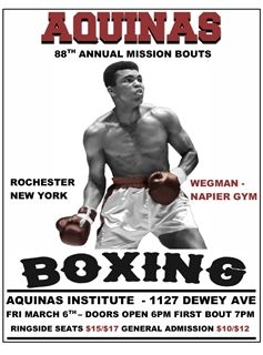 Aquinas Boxing Program Hosts 88th Annual Mission Bouts