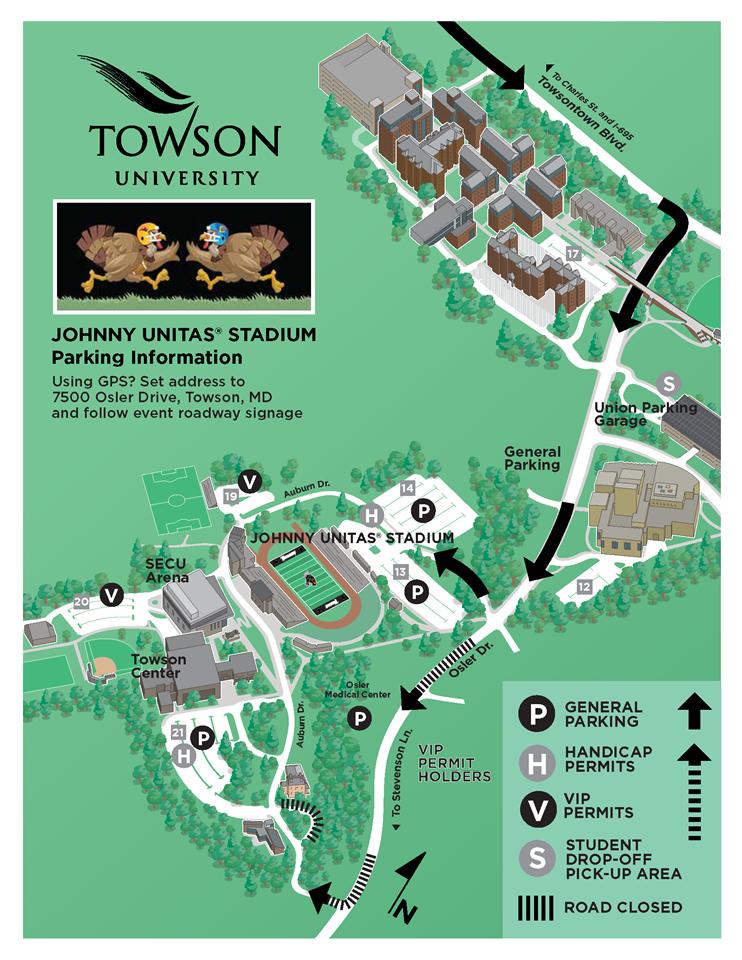 Loyola Blakefield Campus Map.Loyola Blakefield 98th Annual Turkey Bowl