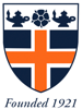 Coed Boarding School private school crest for Christchurch School Blue and Orange