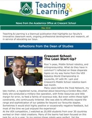 Teaching & Learning Newsletter