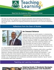 Teaching & Learning Newsletter - December 2019