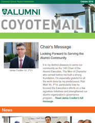 October 2016 Coyotemail