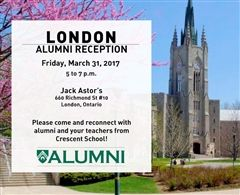 London Ontario Alumni Reception