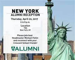 New York Alumni Reception