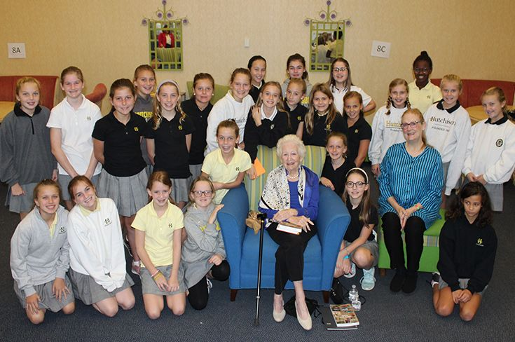 Emily Ruch '47 Tells Middle School Girls about Her