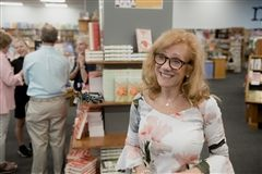 Lisa Patton '76 at Novel Bookstore in Memphis