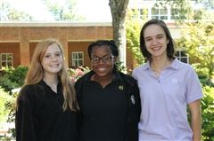 Becket Monaghan '19, Madyson Bolton '18, and Sarah Austin '17 have been selected to perform with the prestigious 2016 All-Southwest Senior High Honor Choir.