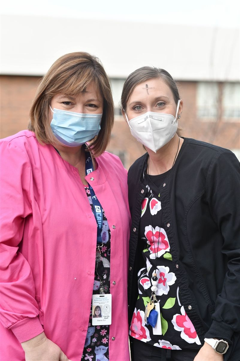 CCES HEROES: SCHOOL NURSES STACEY EJIRI AND HEATHER REYNOLDS